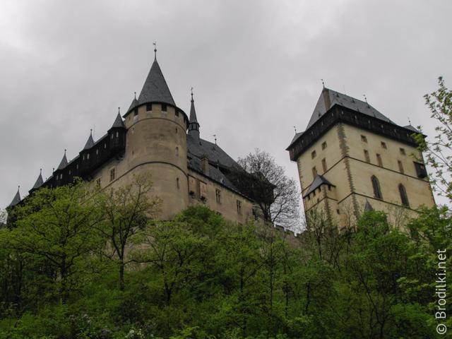 Замок Карлштейн;, Центральная Богемия, Чехия