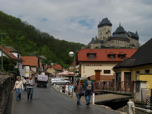 окрестности замка Карлштейн, Чехия