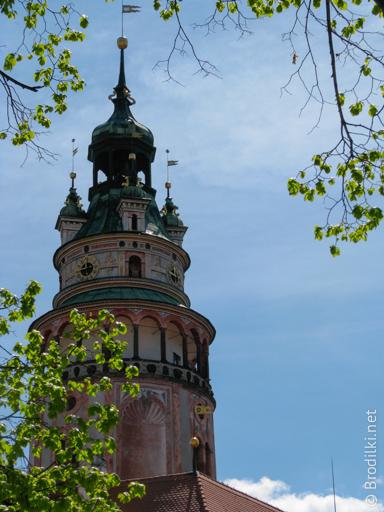 Смотровая башня замка Чешский Крумлов