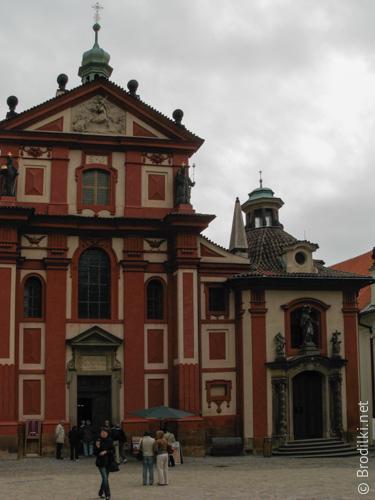 Базилика и монастырь Св.Георгия, Прага