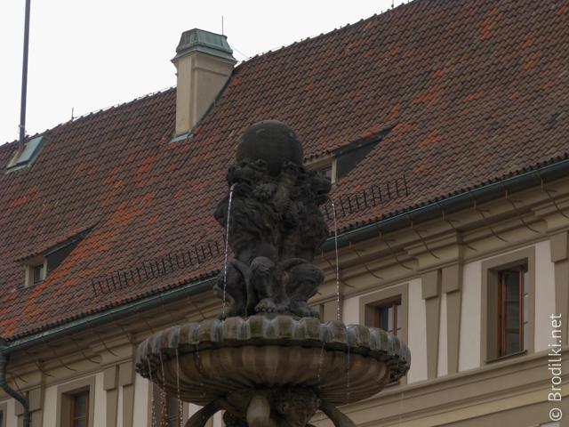 Какой-то фонтан, Прага, Чехия