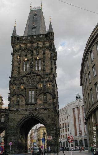 Пороховая башня, Прага, Чехия
