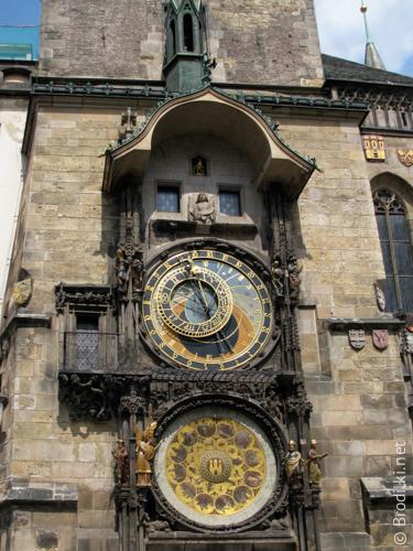 Пражские куранты или Орлой на Староместской ратуше, Прага