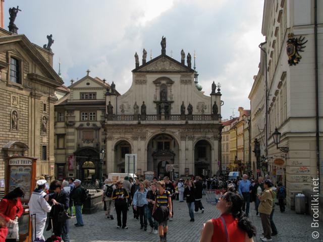 Кржижовницкая площадь, Прага, Чехия