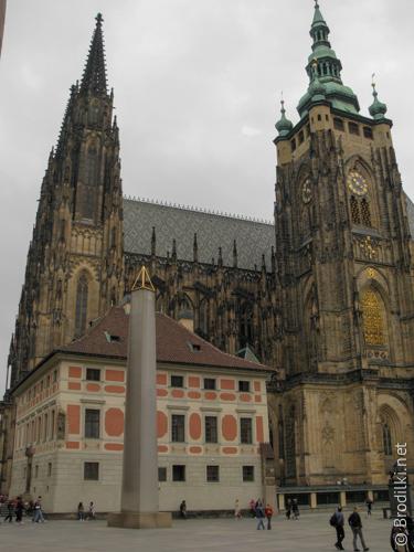 Собор святого Вита. Достопримечательности Праги
