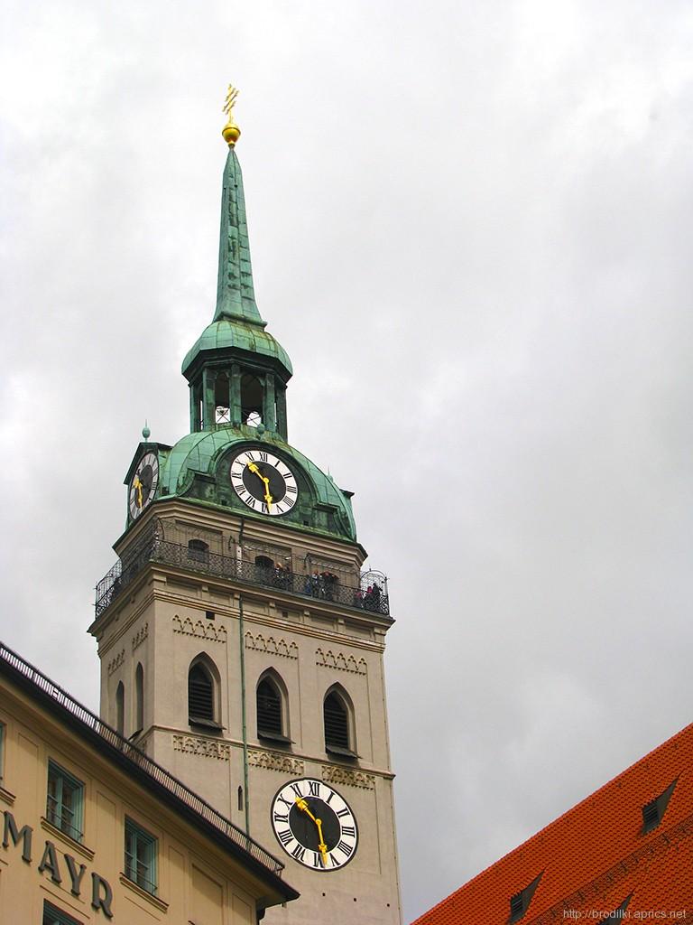 Достопримечательности Мюнхена: Собор Святого Петра