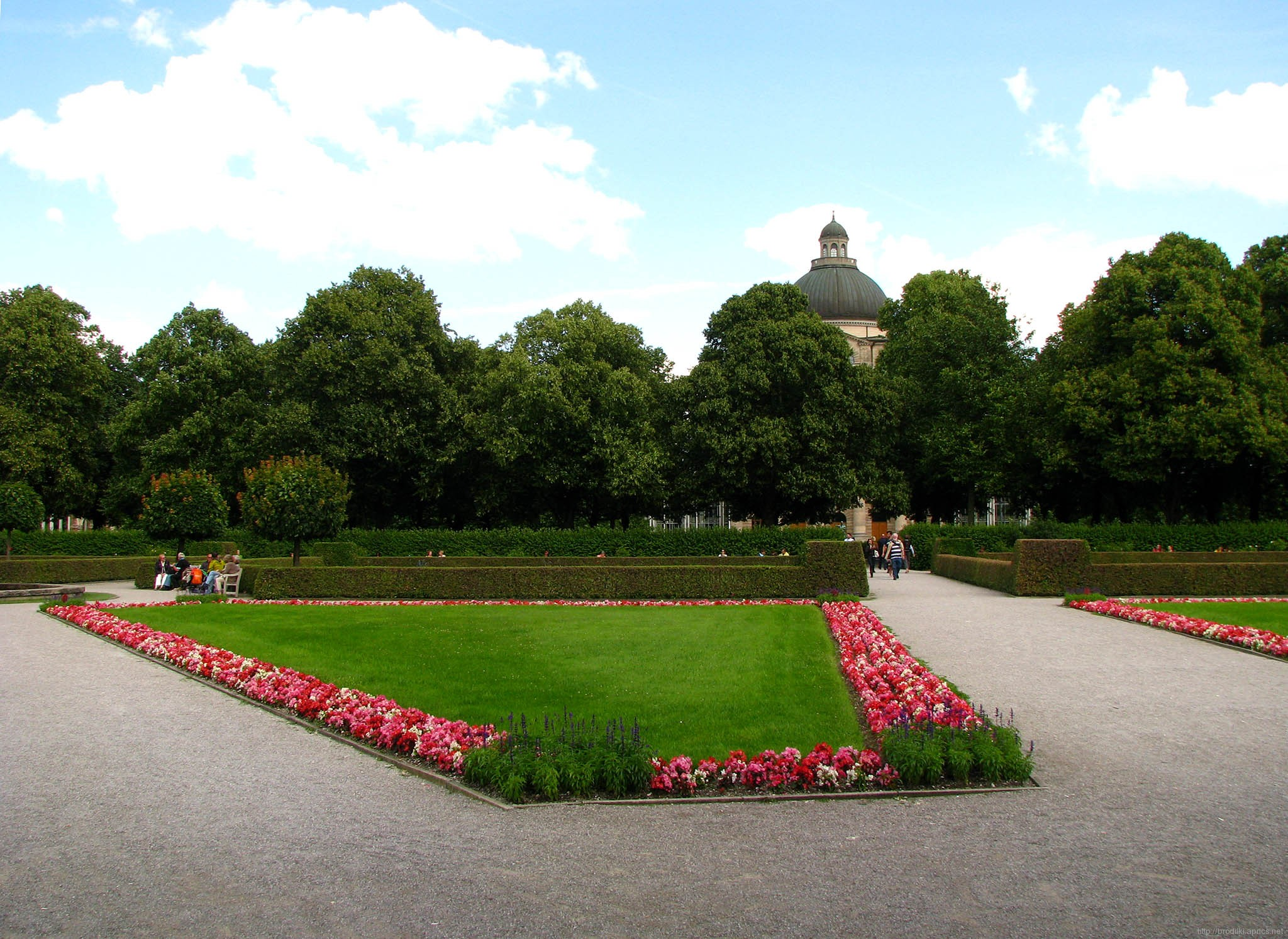 Парк Хофгартен (Достопримечательности Мюнхена)