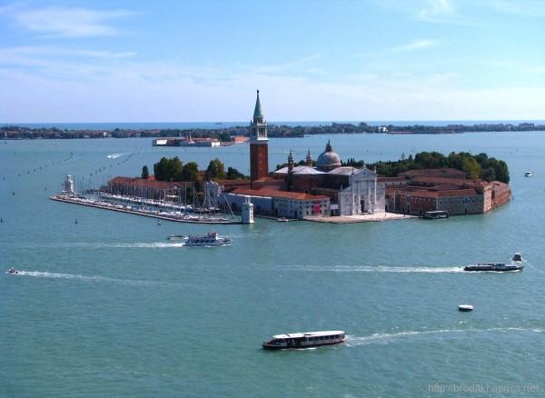 Вид с колокольни Сан-Марко, Венеция, Италия