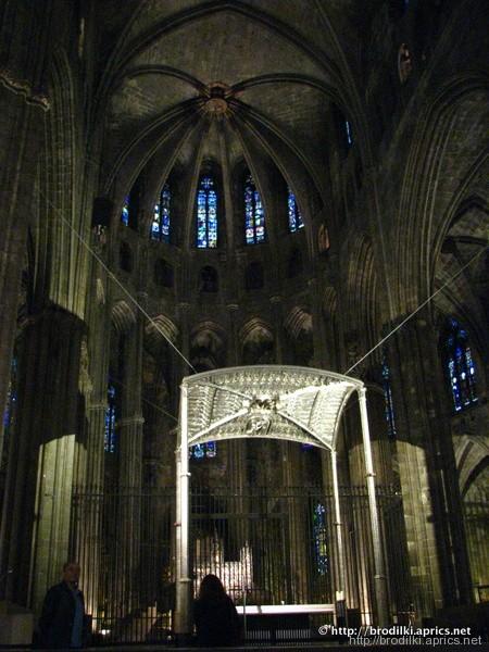 В Кафедральном соборе Жироны