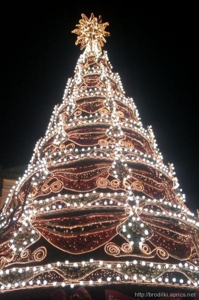 Новогодняя ёлка в Лимассоле