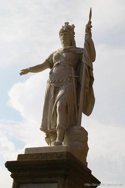 Статуя Свободы в Сан Марино