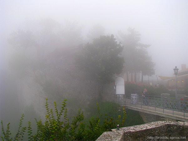 Туман. Сан Марино
