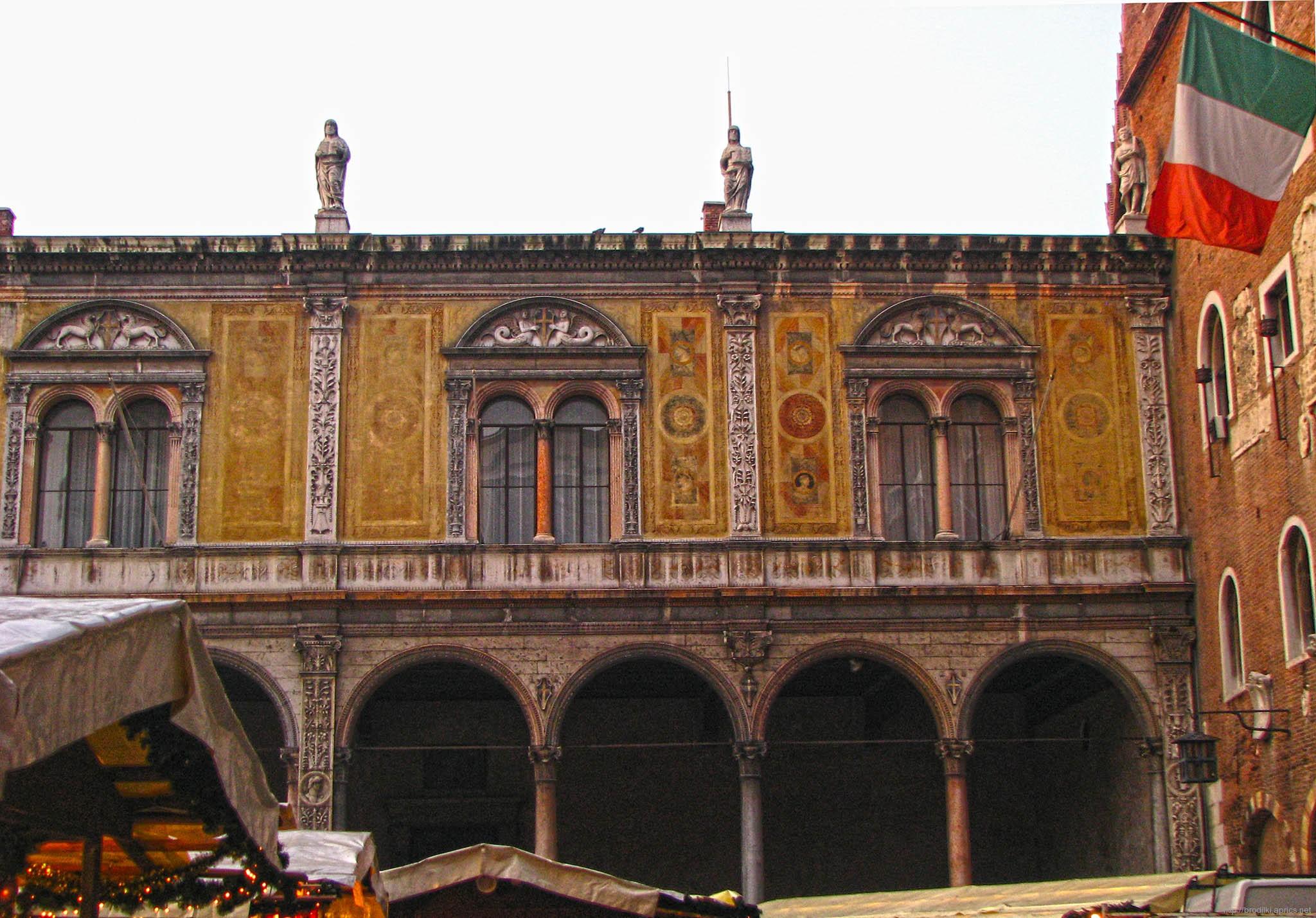 Лоджия Совета, Верона, Италия