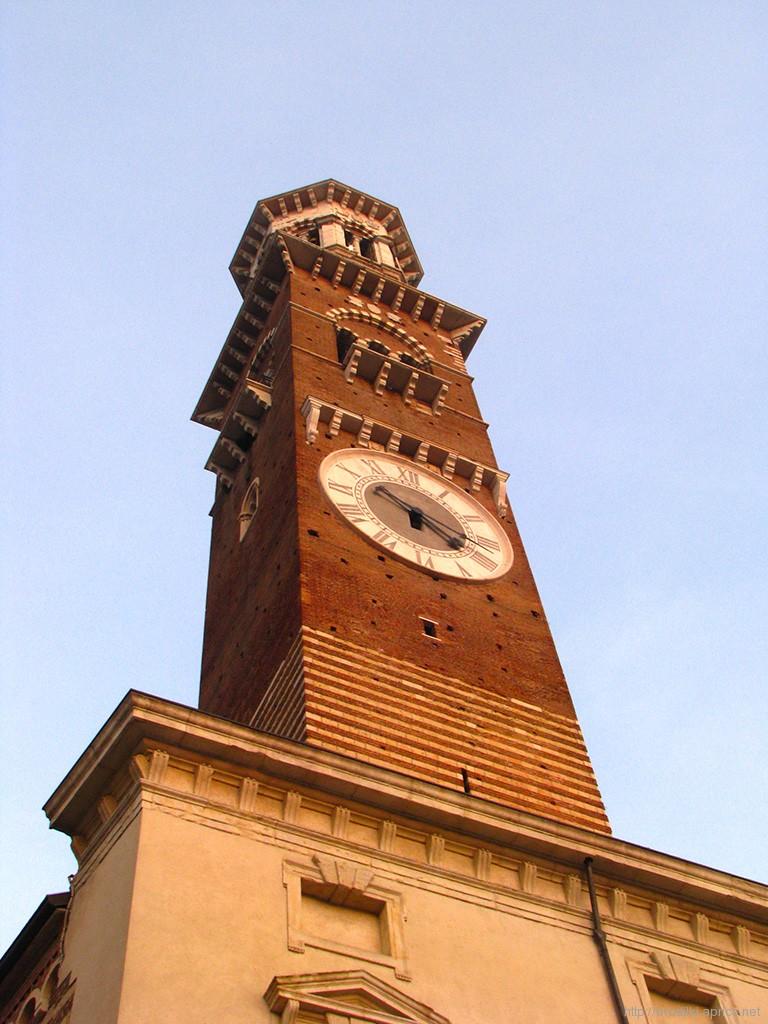 Башня Ламберти, Верона, Италия