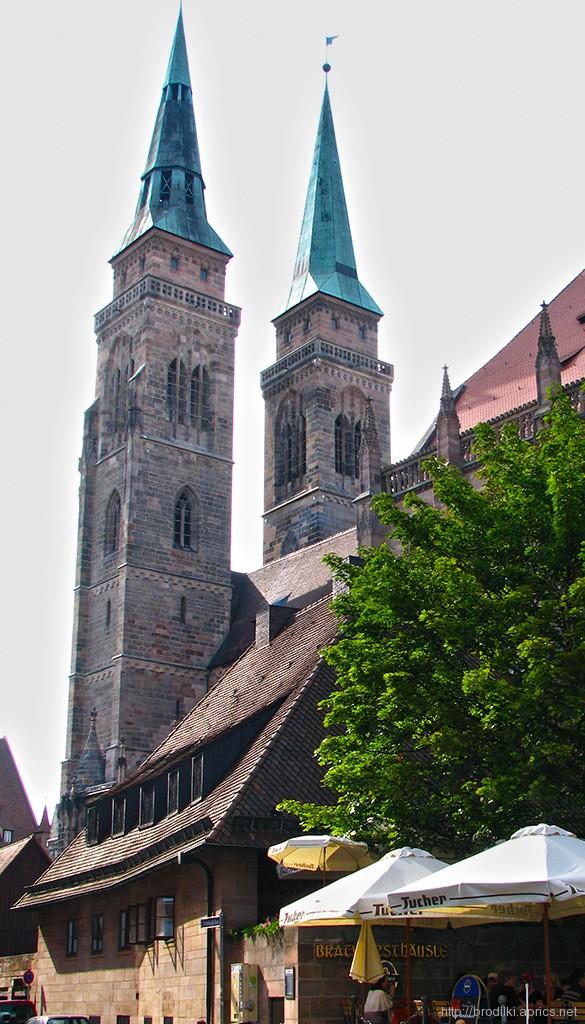 Церковь Святого Себальда. Достопримечательности Нюрнберга