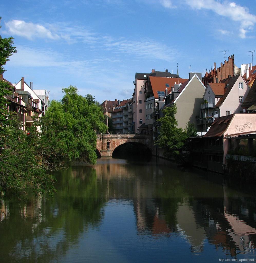 Мост через реку Пегниц, Нюрнберг