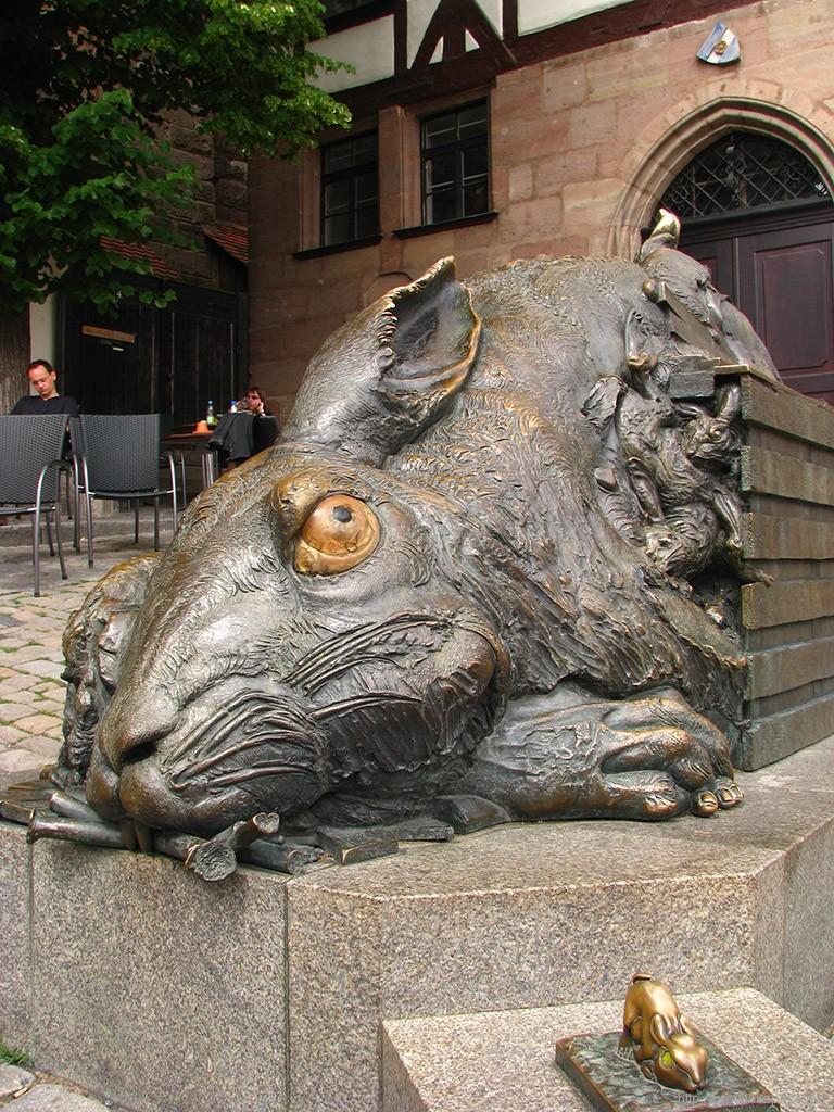 Памятник зайцу, Нюрнберг