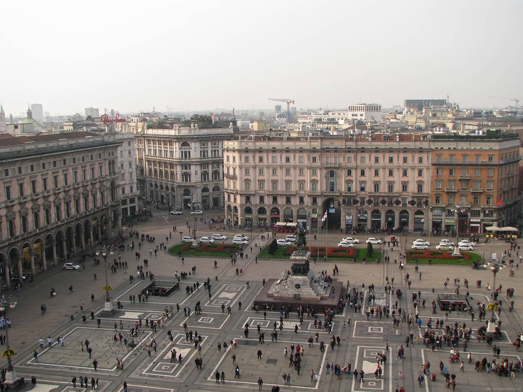 Площадь Дуомо