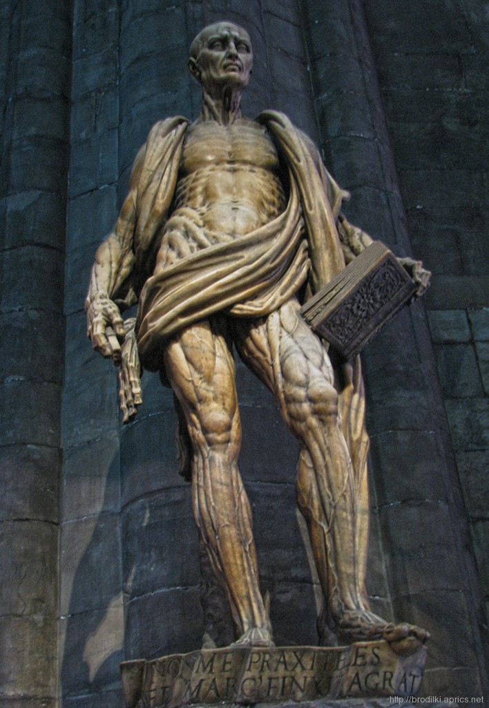 Св.Варфаломей, Миланский собор. Милан, Италия
