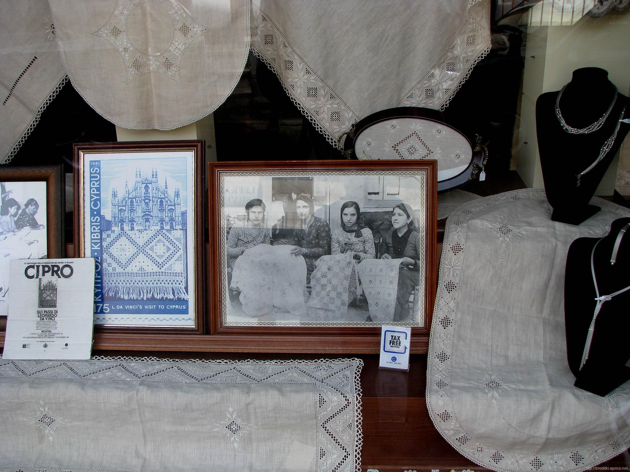 Лефкара, музей вышивки
