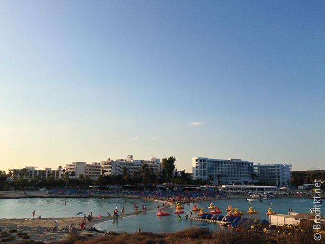 Нисси бич, Айа-Напа, Кипр Реальность