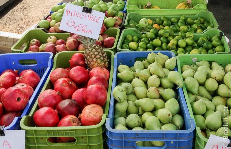 Субботний рынок: фруктики
