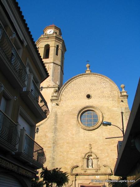 Церковь Iglesia de Santa Maria. Калелья, Испания