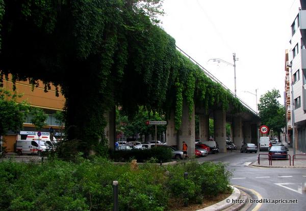 Беслпатная парковка в Жироне