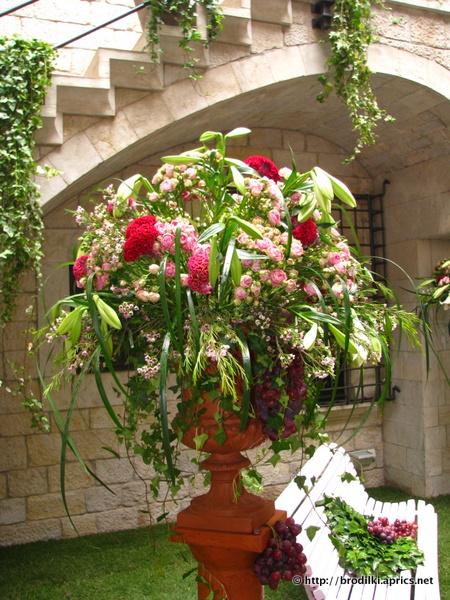 Жирона, Испания. Праздник цветов