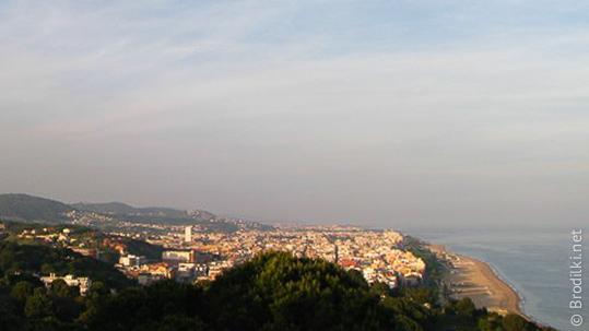 Вид Калельи с холма