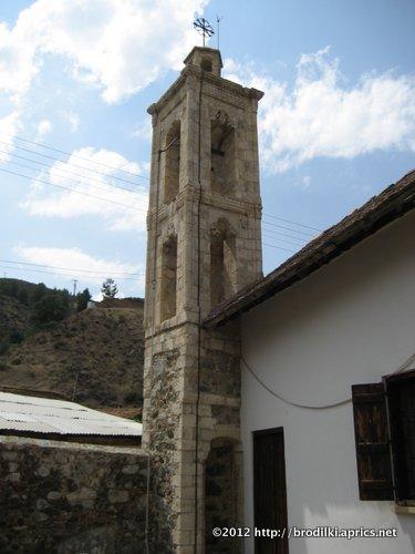 Церковь Преображения в Какопетрии