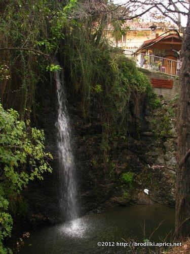 водопад в Какопетрии