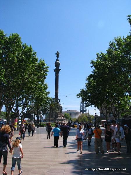 Памятник Колумбу (Colon) (Барселона, Испания, достопримечательности)