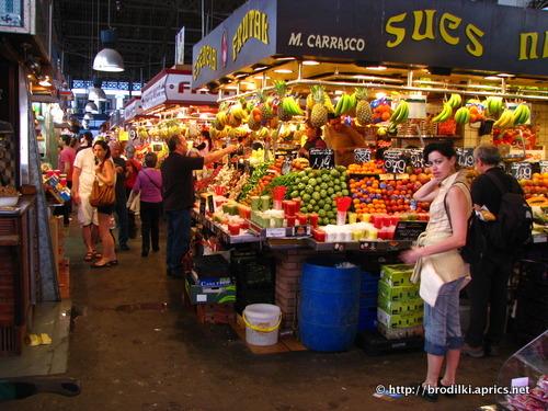 рынок в районе Рамблы (Барселона, Испания, достопримечательности)