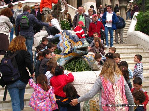 Парк Гуэль, достопримечательности Барселоны, Испания