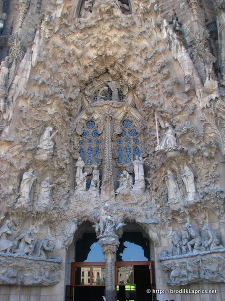 Саграда Фамилия (Барселона, Испания, достопримечательности)