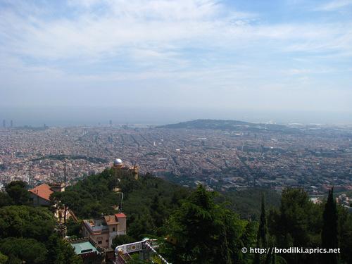 Гора Тибидабо (достопримечательности Барселоны, Испания)